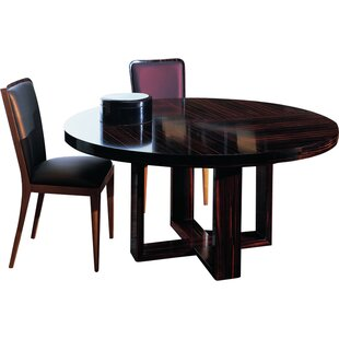 Solid Wood Dining Table By Annibale Colombo