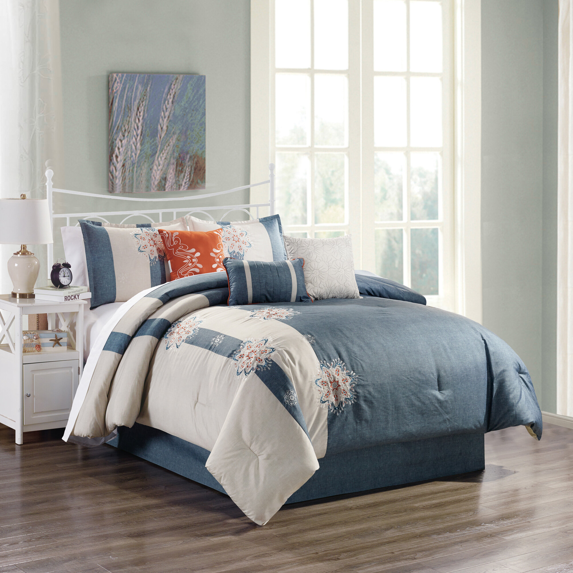 Canora Grey Holmberg Elight Home Amie Comforter Set Wayfair