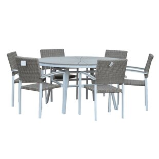 Ilya 6 Seater Dining Set By Sol 72 Outdoor