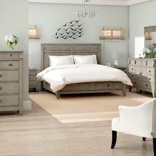 Beachcrest Home Vasilikos Solid Wood Construction Platform 6 Piece Bedroom Set