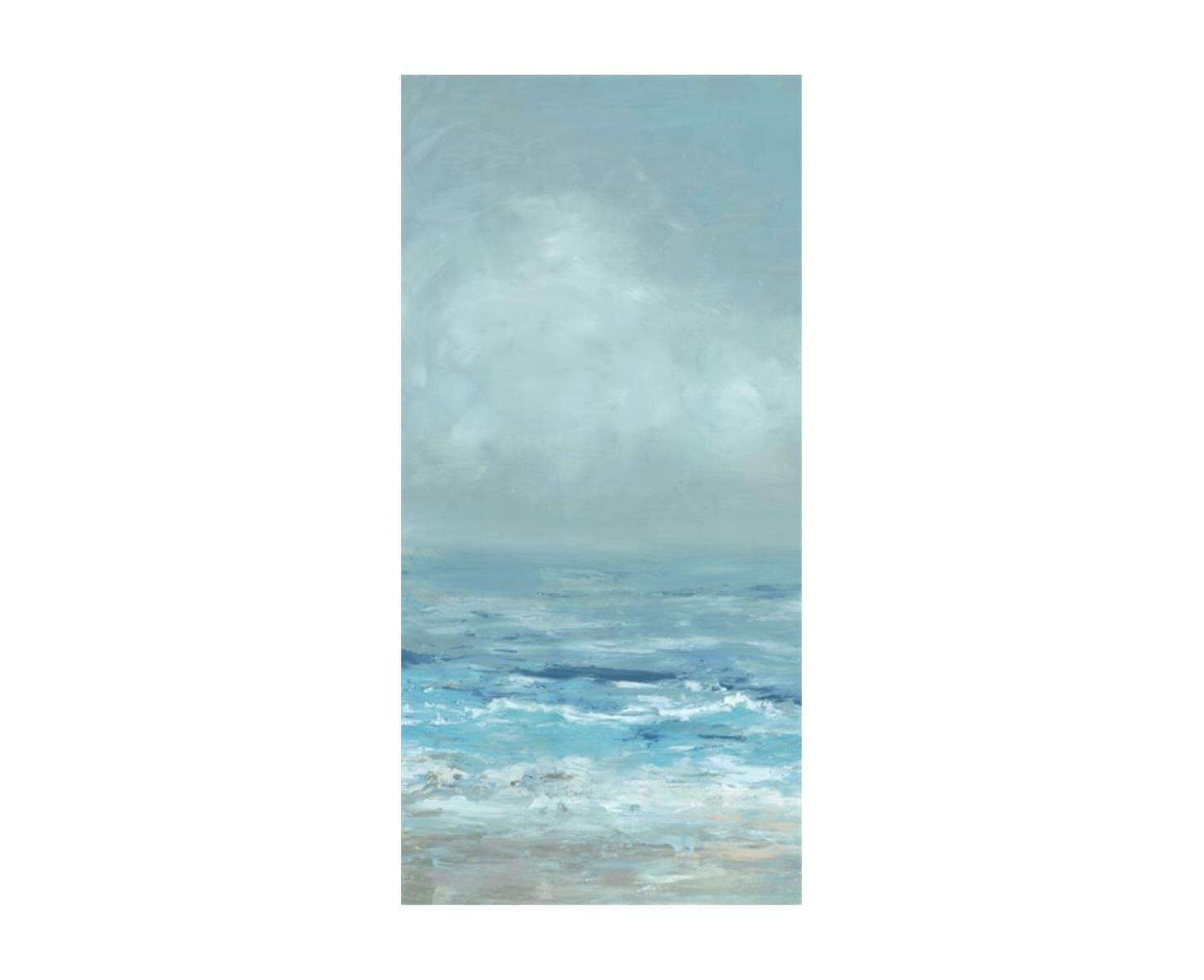 Chelsea Art Studio Ocean Blue I By Barclay Butera Wrapped Canvas Painting Print Perigold