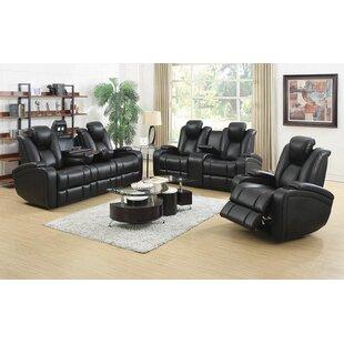 Navua 3 Piece Reclining Living Room Set b..