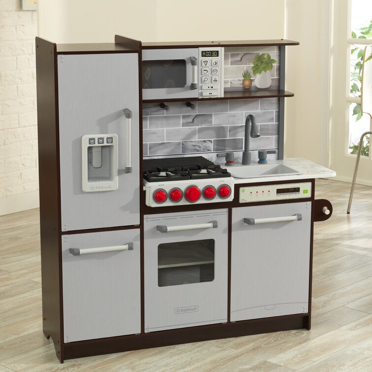 Kidkraft Uptown Elite Play Kitchen Set Reviews Wayfair