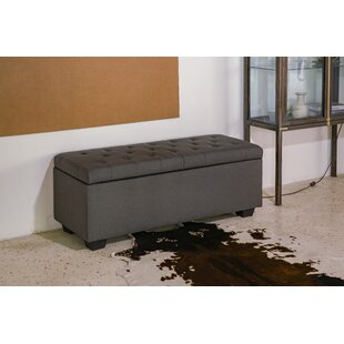 Kew Gardens Upholstered Storage Ottoman by Charlton Home