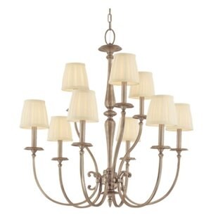 Darby Home Co Calvert 9-Light Shaded Chandelier