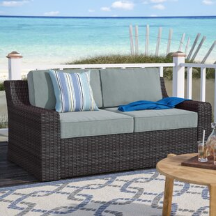 Linwood Loveseat With Cushions by Beachcrest Home Coupon