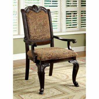 Winston Porter Shmavon Upholstered Side Chair In Gold Wayfair