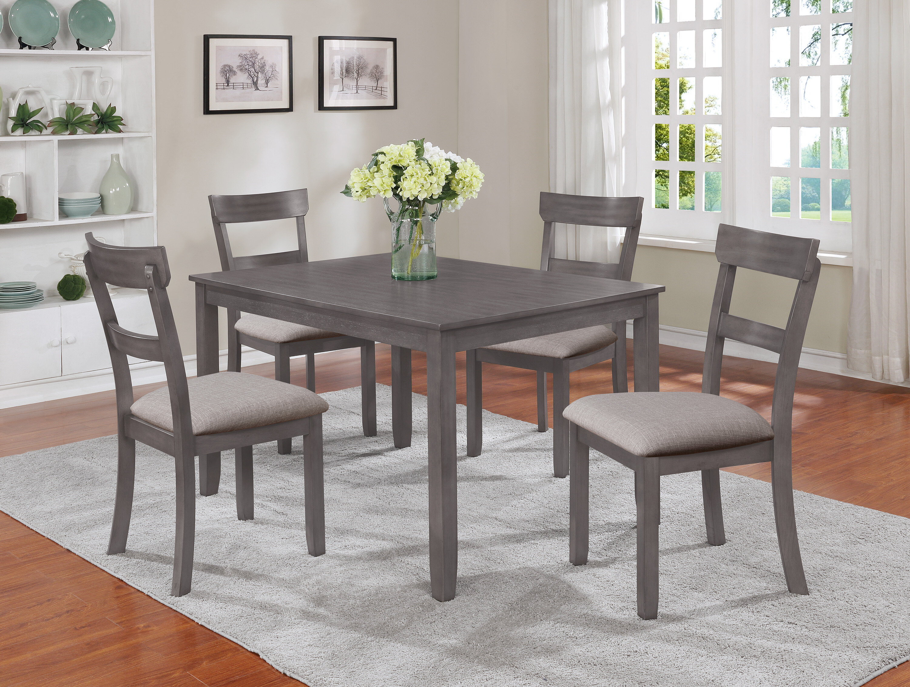 Grey Kitchen Dining Room Sets Tables You Ll Love In 2021 Wayfair