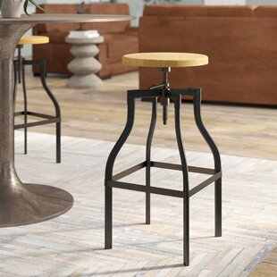 Cherelle Adjustable Height Bar Stool