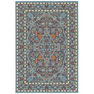 Premont Blue Indoor/Outdoor Area Rug