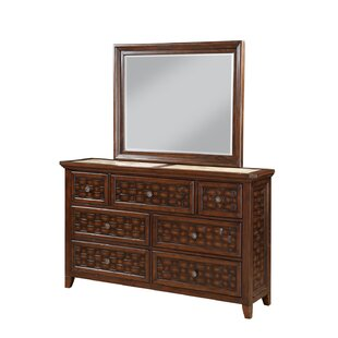 Bayou Breeze Cleveland 7 Drawer Dresser with..