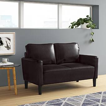 Ivy Bronx Shayne Convertible 81 Square Arm Sofa Reviews Wayfair Ca