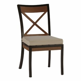 Belize Patio Dining Chair with Cushion (Set of 2)