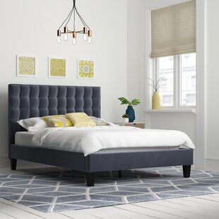 Cortinas Upholstered Bed Frame By Mercury Row