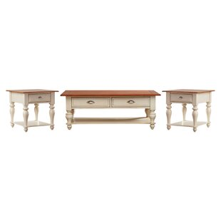 Balhi 3 Piece Coffee Table Set