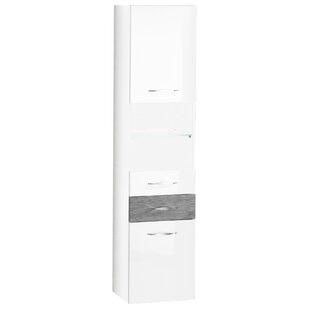 Sceno 40 X 175.5cm Tall Bathroom Cabinet By Fackelmann