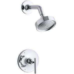 shower faucet. Purist Rite Temp Pressure Balancing Shower Faucet Trim with Lever Handle  Valve Not Faucets You ll Love Wayfair