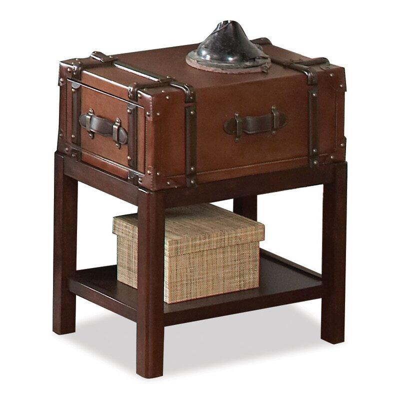 Delavan Suitcase Console Table