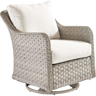 Darby Home Co Keever Swivel Glider