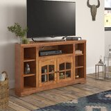 Glastonbury Solid Wood Corner TV Stand for TVs up to 60 by Loon Peak®
