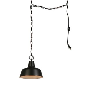 Christine 1-Light Dome Pendant by Andover Mills