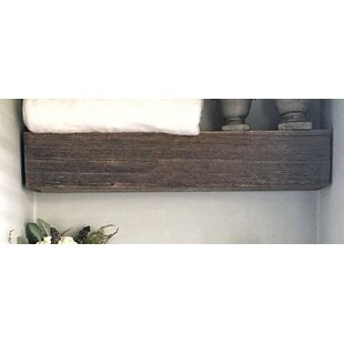 Mccollum Short Floating Wall Shelf