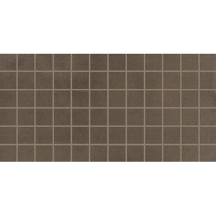 Review Fairfield 2 x 2 Porcelain Mosaic Tile in Fango by Itona Tile