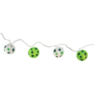 Northlight Seasonal 9.5 ft. 10-Light Novelty String Lights