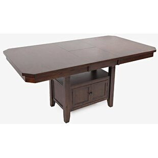 Johnsburg Extendable Solid Wood Dining Table