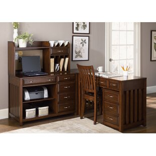 Darby Home Co Nicolette Hampton Bay Office Suite in Cherry