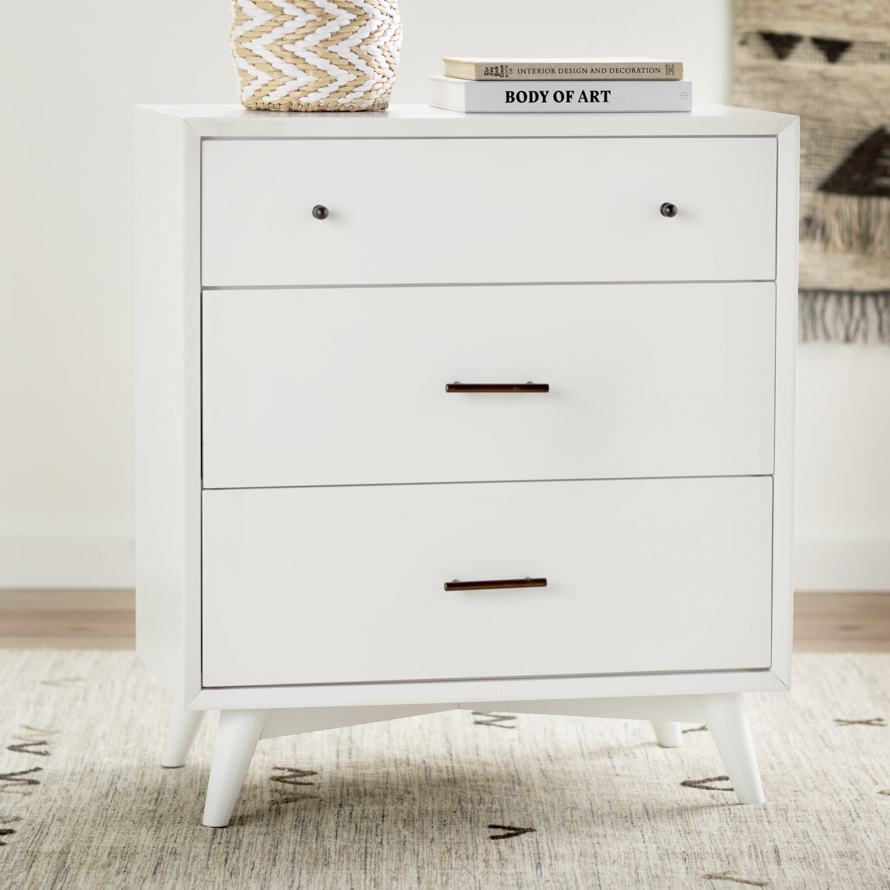 overstock mid today drawer carson white carrington wood walnut shipping trollhattan chest and home free modern garden product century