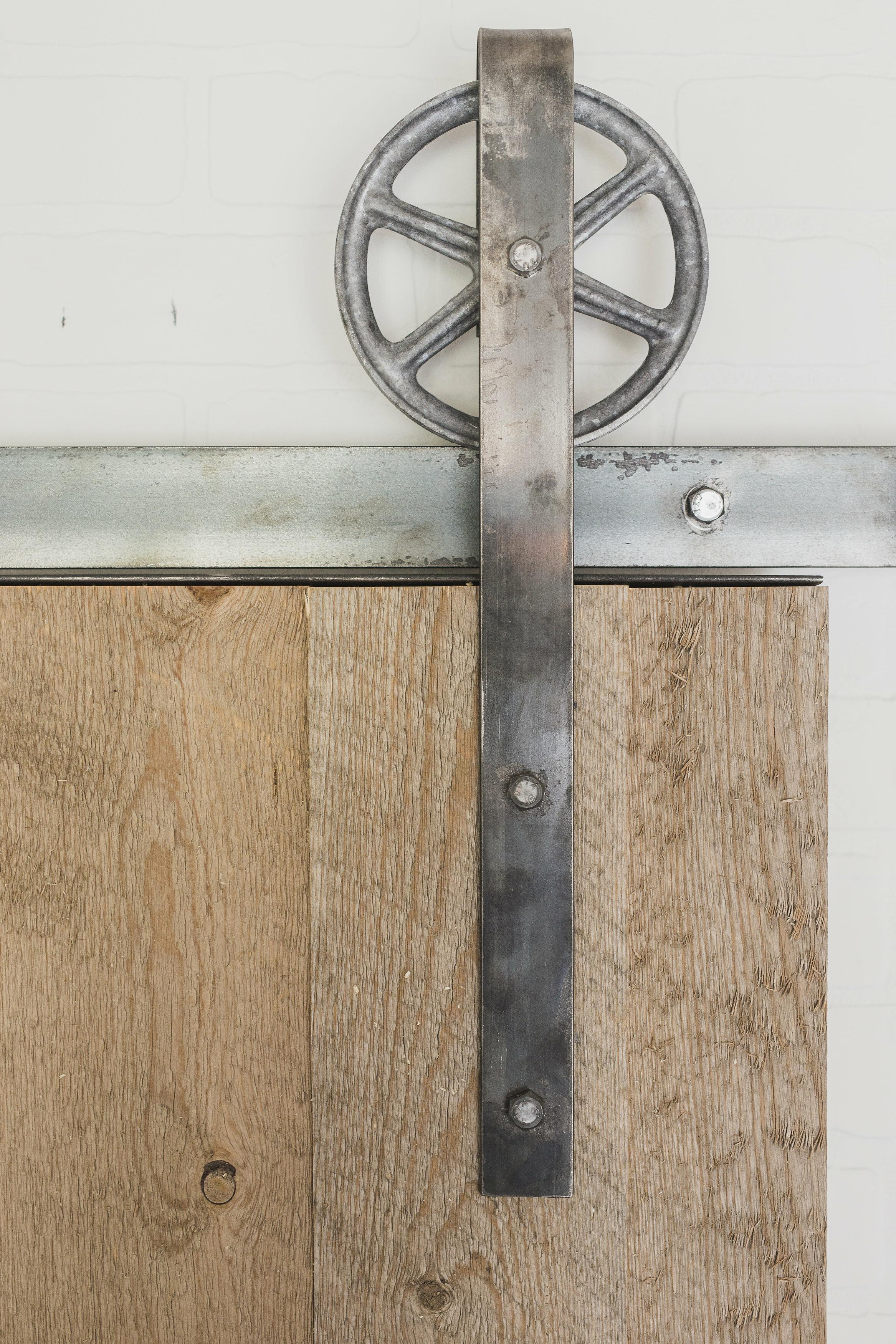 91 In 100 In Track Barn Door Hardware Youll Love Wayfair