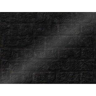 Brick Backsplash Wall Paneling 18 X 24 Field Tile In Smoked Pewter