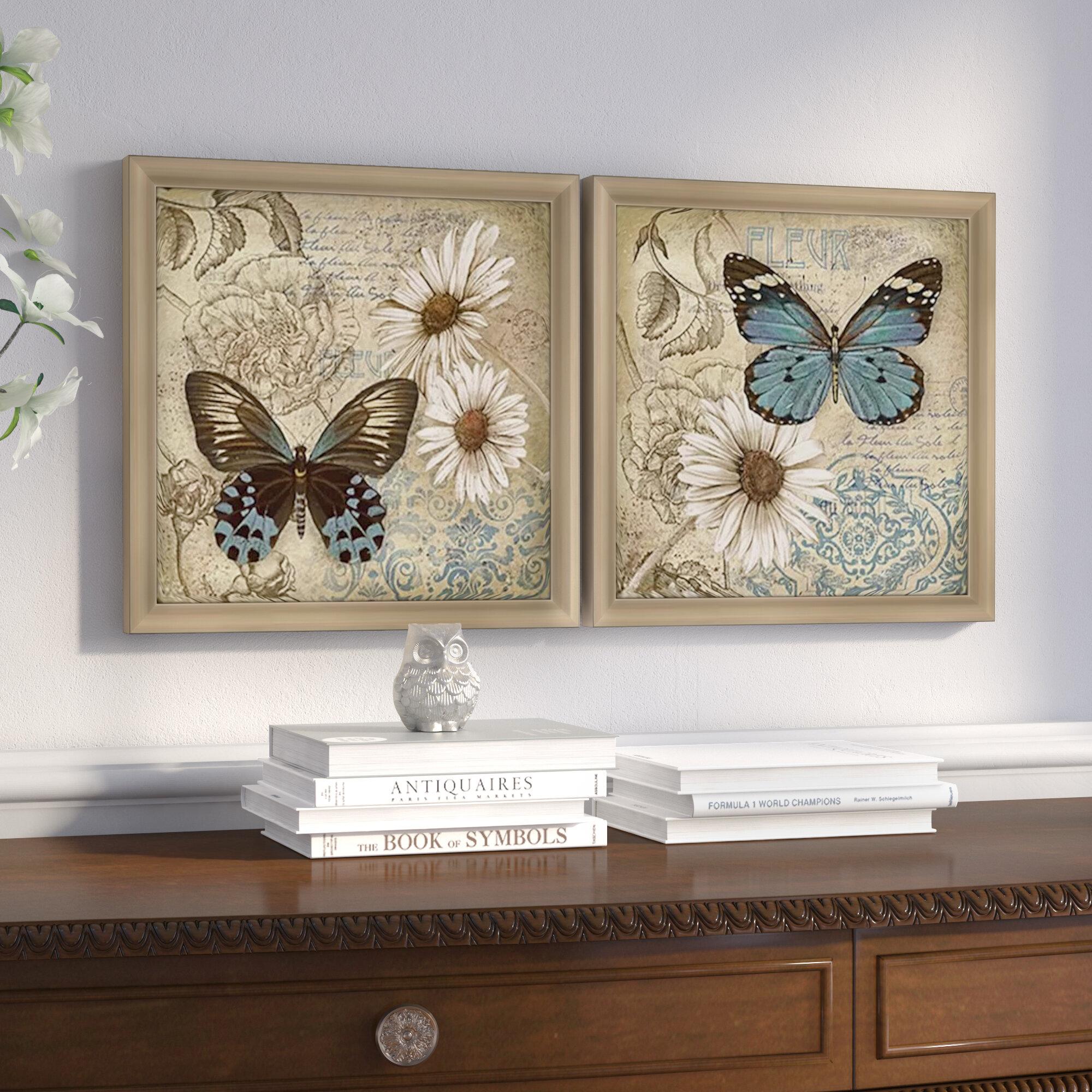 Bloemen Boek II on White Giclee Stretched Canvas Artwork 22 x 28 Global Gallery Sue Schlabach