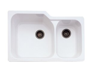 Rohl Undermount Kitchen Sink with Large Bowl