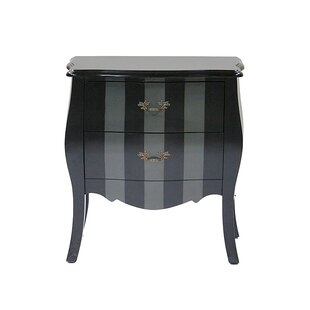 Classic 2 Drawer Bombay Chest by Heather Ann Creations