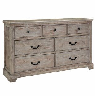 Caroline 6 Drawer Double Dresser