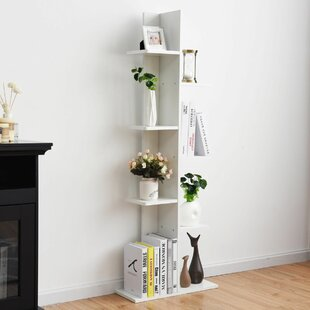 Best Reviews Tidwell Standard Bookcase by Wrought Studio