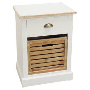 Nachttisch mit 1 Schublade von Home Loft Concept