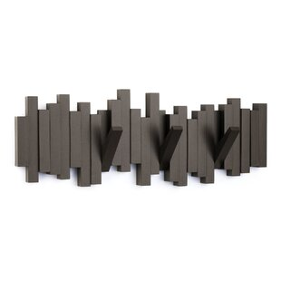 Sticks Wall Mounted Coat Rack by Umbra