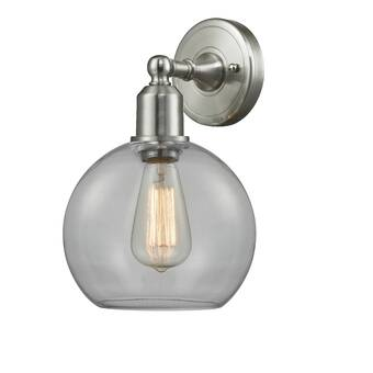 Williston Forge Mccook 2 Light Dimmable Brown Armed Sconce Wayfair