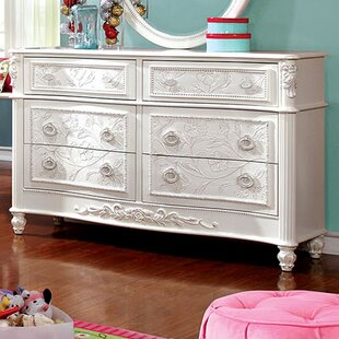 A&J Homes Studio Henrietta 6 Drawer Double D..