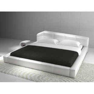 Galeton Upholstered Platform Bed by Wade Logan