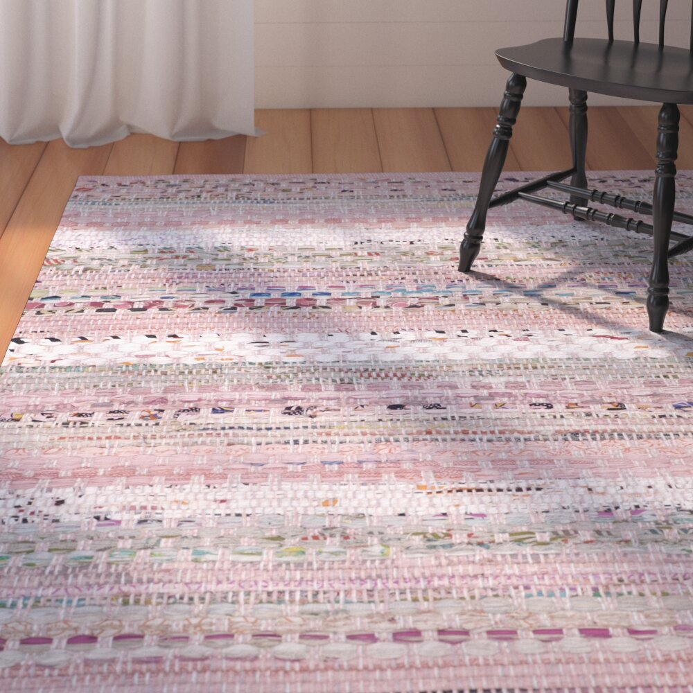 Knotted Pink Area Rugs You Ll Love In 2021 Wayfair