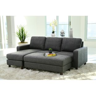 Ivy Bronx Grindle Modular Sectional with Ottoman