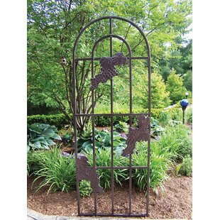 Oakland Living Grape Steel Arched Trellis