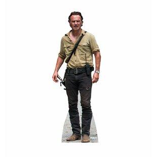 The Walking Dead Damaged Michonne Cardboard Cutout Used