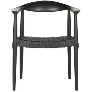 Arvada Genuine Leather Upholstered Dining Chair