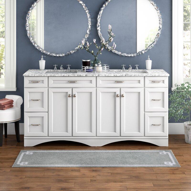 """Madi 72"""" Double Bathroom Vanity"""