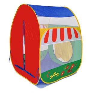 American Creative Team Pretend Garden Twist Safety Meshing with Play Tent